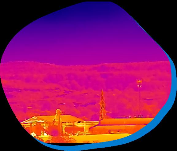 Border Security Thermal Camera Monitoring