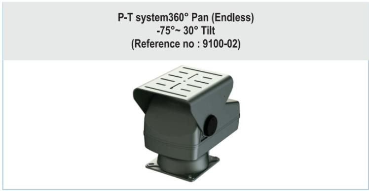 Security System Pan Tilt Head